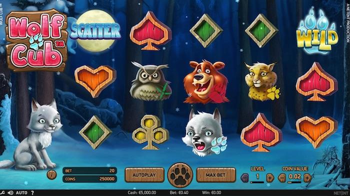 Netent Wolf Cub online slot
