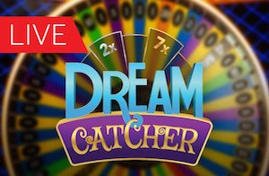 Dream Catcher Live Casino Wheel