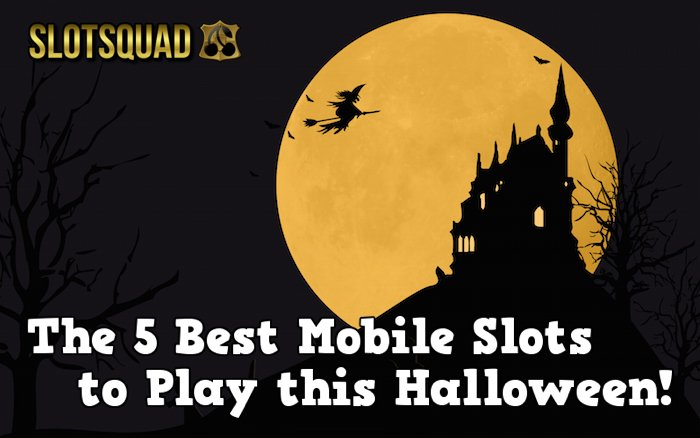 Play Halloween mobile slots