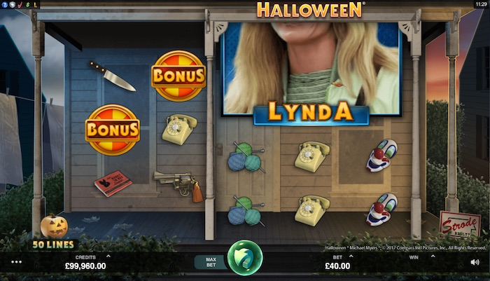Halloween mobile slot