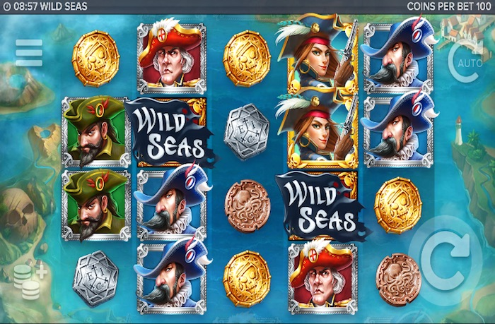 Screenshot of Wild Seas Online Slot