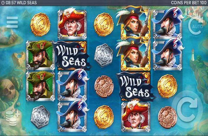 Screenshot of Wild Seas Online Slot