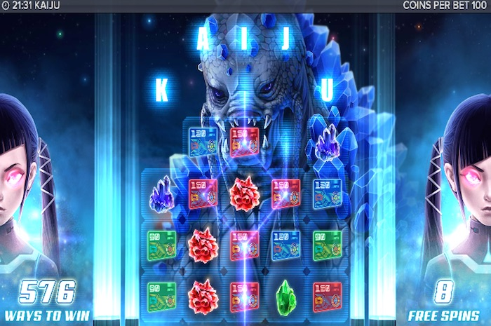 Mobile Slot game Kaiju