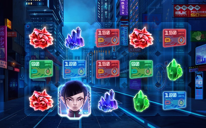 Screenshot of Kaiju Online Slot