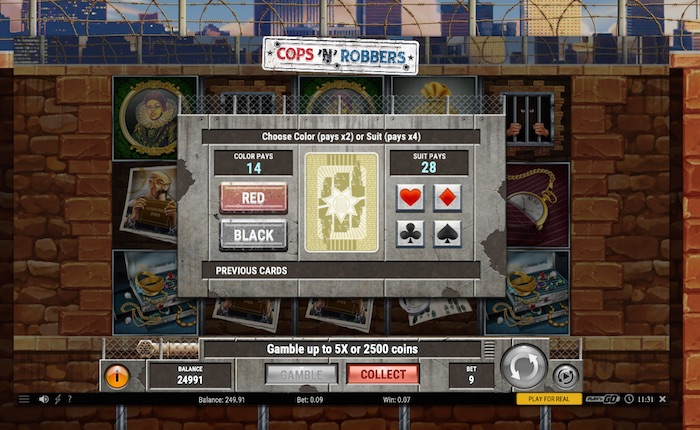 New Mobile Slot Cops and Robbers