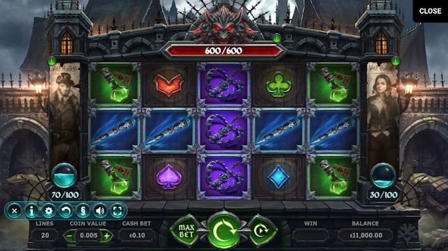 Wolf Hunters Slot Game Review Screenshot