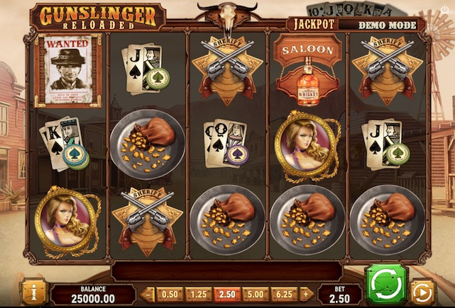 Play'n Go Gunslinger: Reloaded Slot