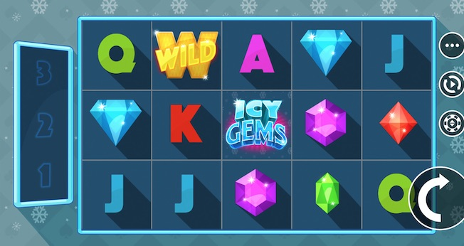 JFTW Icy Gems Slot Microgaming