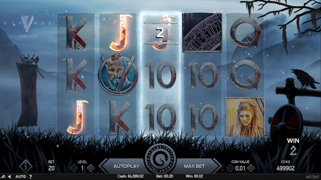 Vikings Slot Game Review Screenshot