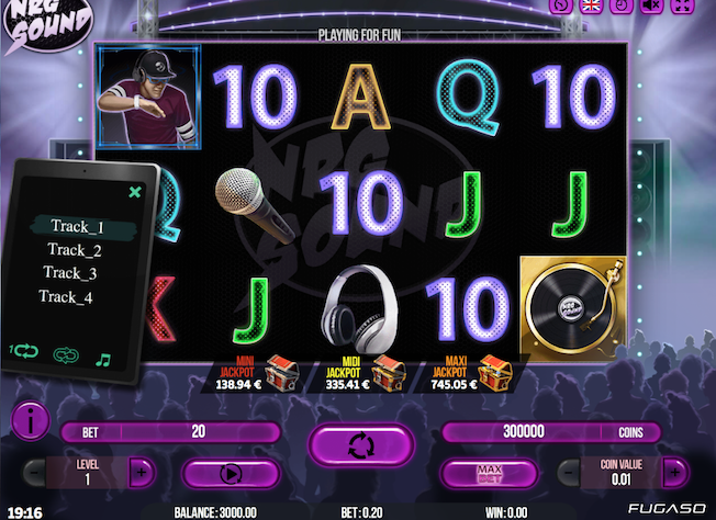 RNG Sound Slot Machine Graphics