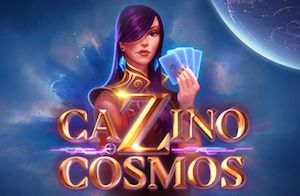 Yggdrasil Gaming Cazino Cosmos Slot Game Logo