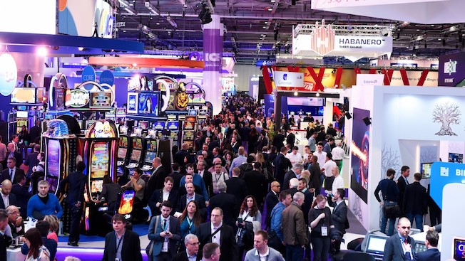 APEX will showcase numerous games and slot machines at London ICE