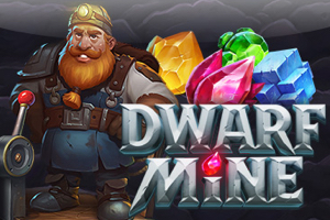 New Dwarf mine Slot Logo