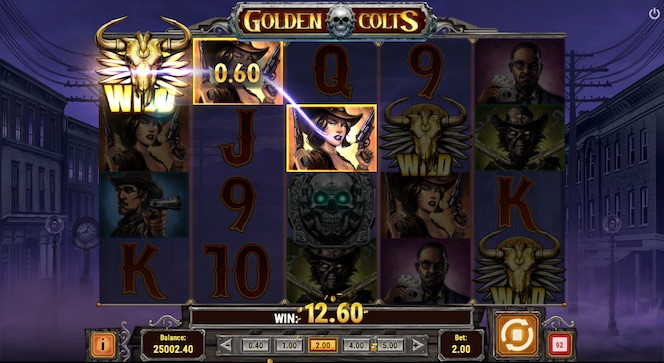 Game Screenshot Play'n Go Golden Colts Slot