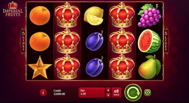 Playson popular slot Imperial Fruits