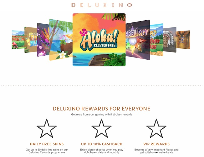 Deluxino.com Screenshot