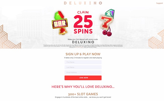 Deluxino.com Screenshots