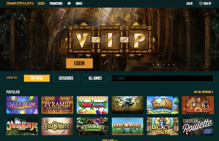 Screenshot of New Casino