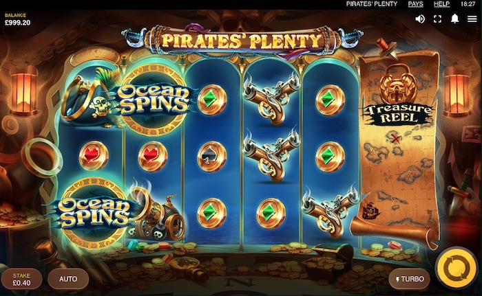 New Pirate slot game