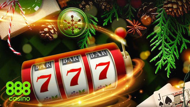 UK players can claim a Christmas Special Offer including 50 free spins at 888 Casino