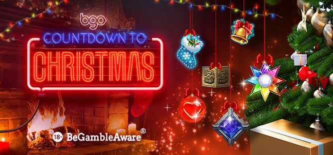 Bgo Casino's Countdown to Christmas includes cash bonuses and free spins throughout December