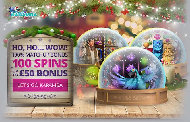 Karamba Christmas Special Welcome Bonus