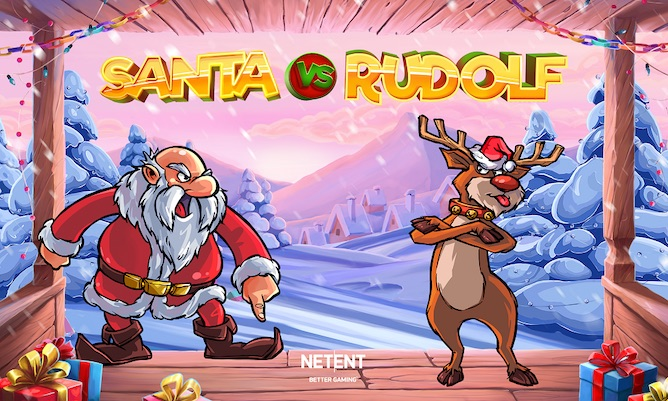 NetEnt Santa vs Rudolf is one of the newest slots this December