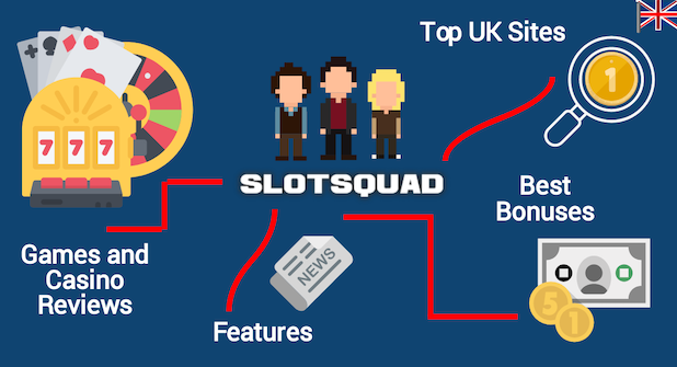 Slotsquad finds the best casino sites for UK players