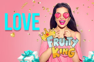 Get three Valentine's casino bonus codes at Fruity King