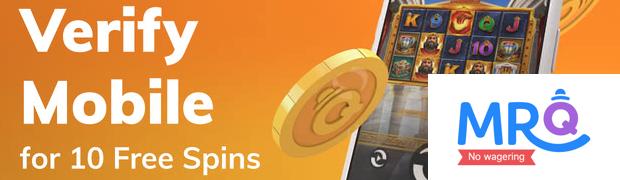 Mr Q Casino 10 Free Spins