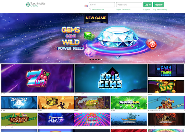 Touch Mobile Casino Review 2020