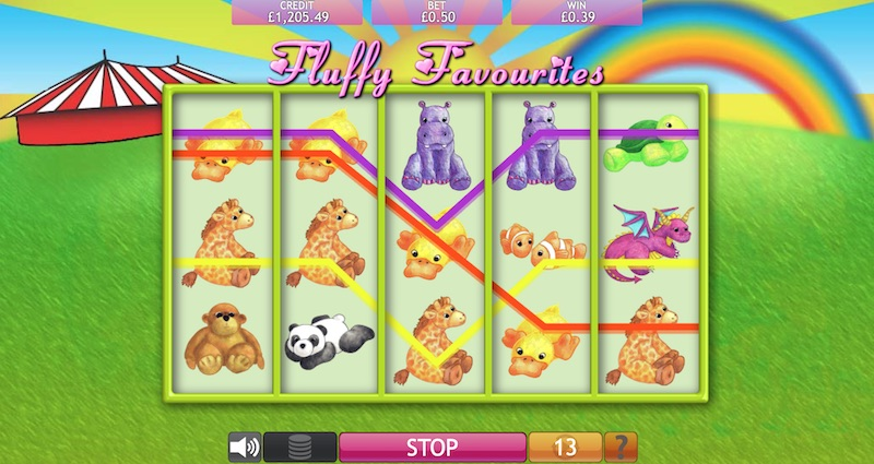 Why choose online casinos with Fluffy Favourites