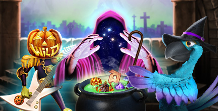 October casino promotions include new Halloween slots
