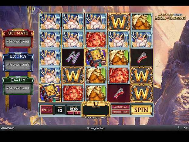 Some of the top games at Betfred Casino include the Age of the Gods Slots