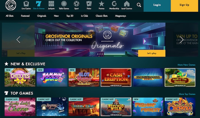 Best Grosvenor Casino Slots