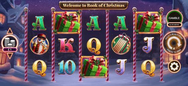 Book of Christmas Slots from Inspired Gaming