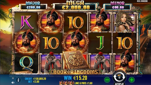 Book of Kingdoms Slot at 888 Casino