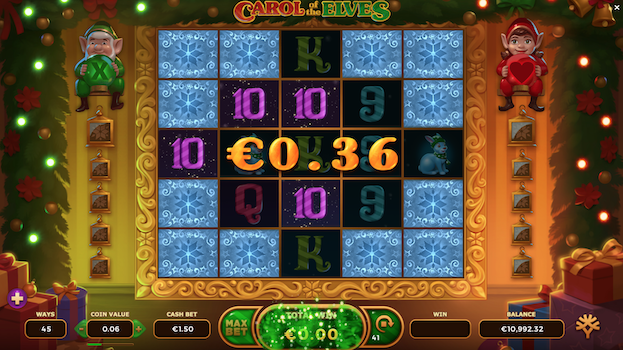 Yggdrasil Gaming Carol of the Elves December Slot Release