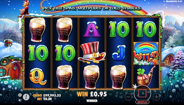 Leprechaun Carol is one of the new Christmas slots in 2020
