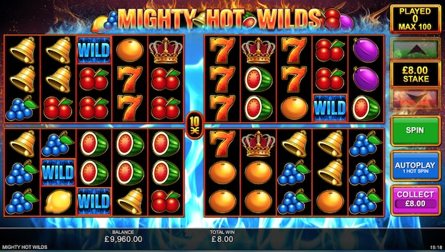 Mighty Hot Wilds Slot
