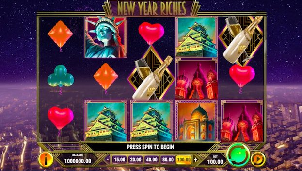 Play'n Go New Year Riches Slot Game
