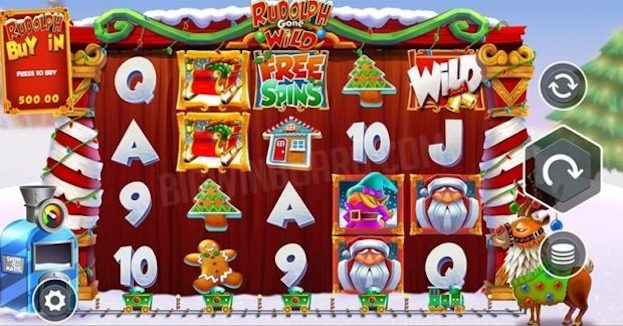 New Christmas Casino Slot Rudolph Gone Wild