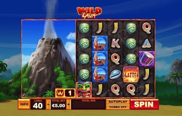 Wild Lava Slot at Betfred