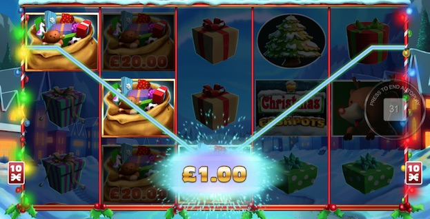 Christmas Cash Pots Slot Inspired Gaming