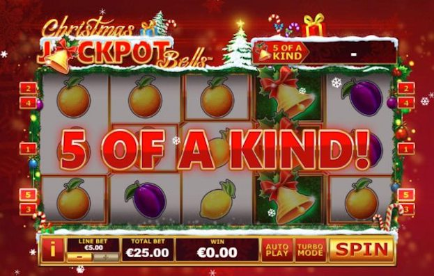 Christmas Jackpot Bells Casino Game