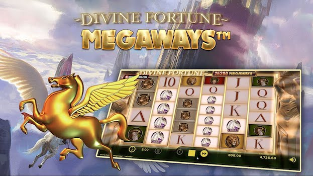 Play the best 888 games including Divine Fortune Megaways