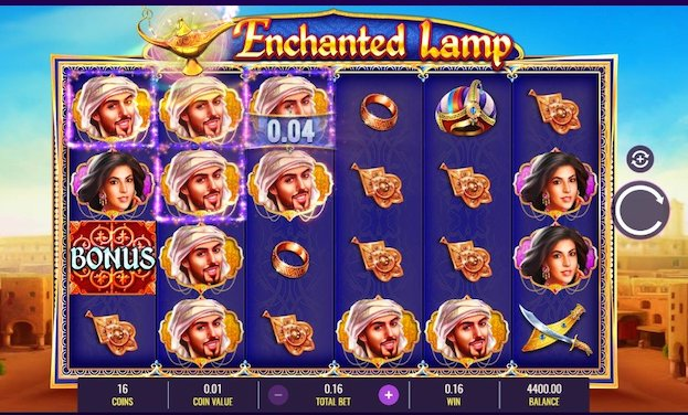 Enchanted Lamp from IGT is one of the new slots at Grosvenor Casino