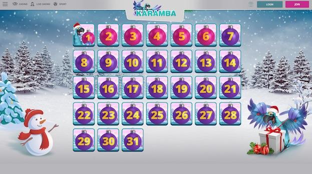 Karamba XMAS Bonus Calendar