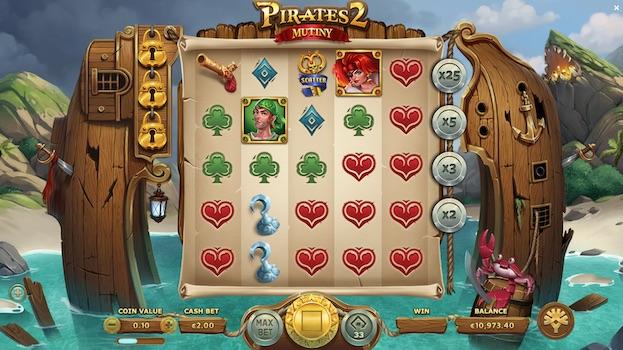 Pirates 2 Mutiny Best 888 Slots