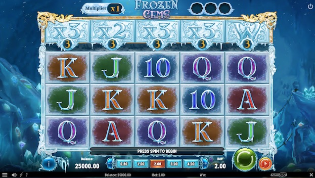 Frozen Gems Slot Machine